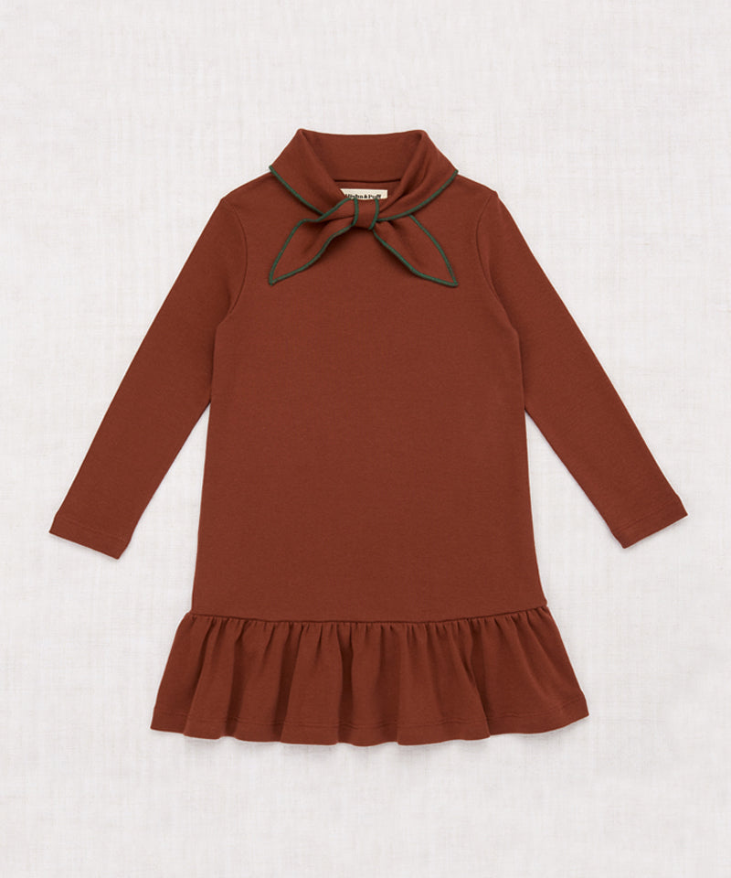 Misha & Puff Scout Dress, Chestnut