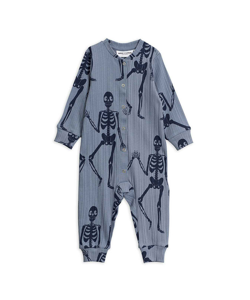 Skeleton aop Jumpsuit, Blue