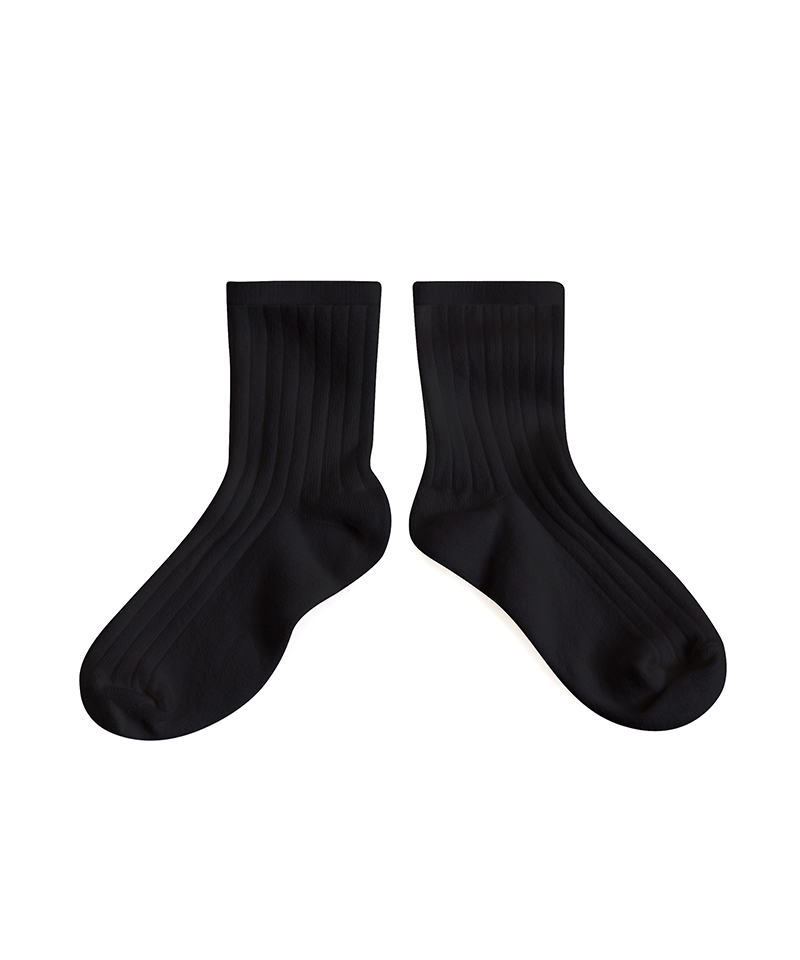 Socks - Black Coal