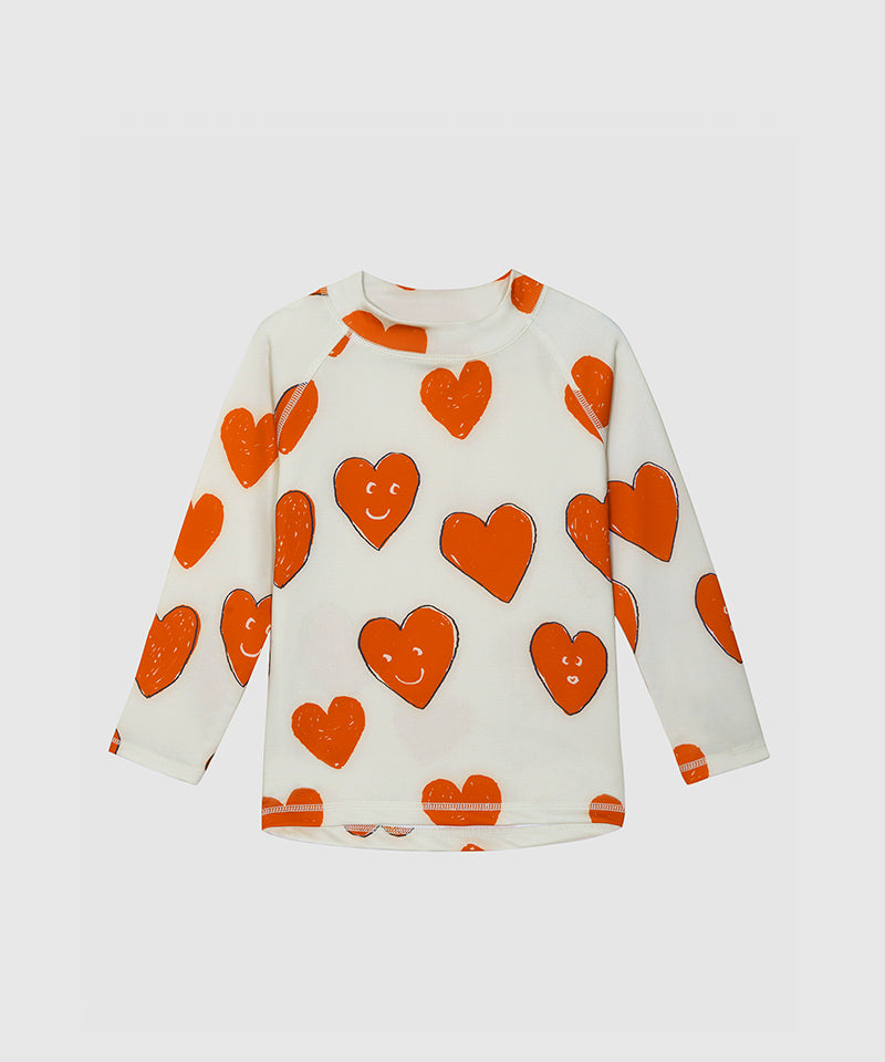 Swim Shirt Love, Off-White