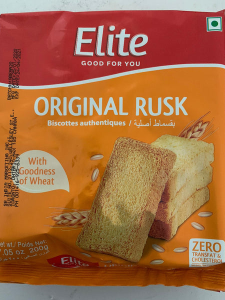 Elite Original Rusk - 200gm