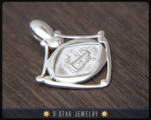 Load image into Gallery viewer, BPS8 - 925 Sterling Silver Baha'i Greatest Name Pendant bahai