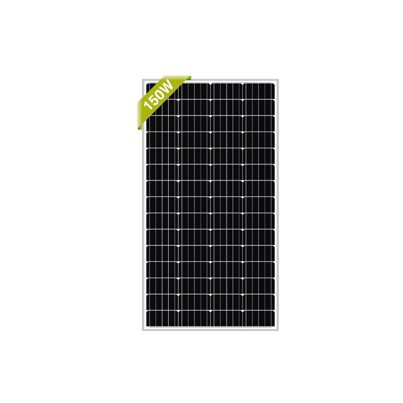NewPowa 150W 12V Monocrystalline High Efficiency Solar Panel - newpowa