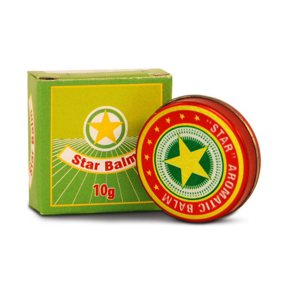 Golden Star Aromatic Balm Vietnamese Cao Sao Vang Ointment Cream 10g