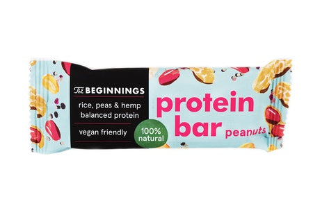 Peanut Protein bar The beginnings 40 g Full pack of 16