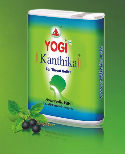 YOGI Kanthika PLUS – Throat Relief Pills - 140 pills