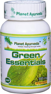 GREEN ESSENTIALS PLANET AYURVEDA 500mg 60 Capsules
