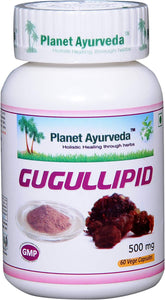 GUGULIPID PLANET AYURVEDA 500mg 60 capsules