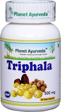 Load image into Gallery viewer, TRIPHALA PLANET AYURVEDA 500mg 60 capsules