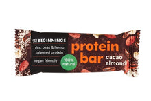 Load image into Gallery viewer, Cacao protein bar 40 g  Full pack of 16