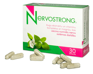 Nervostrong - food supplement, 30 capsules