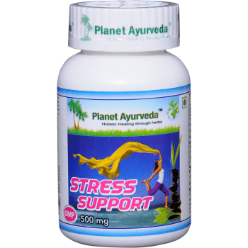 STRESS SUPPORT PLANET AYURVEDA 500mg 60 Capsules