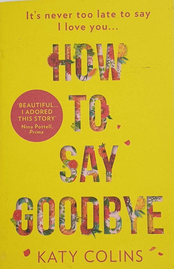 How to Say Goodbye by Katy Colins