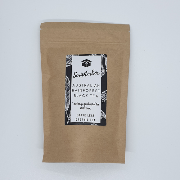 Organic Australian Rainforest Black Tea 50g