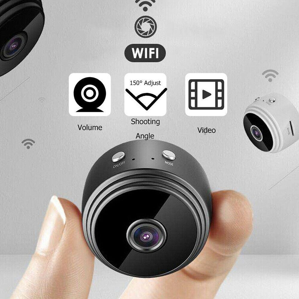1080P HD WiFi Camera, Wall Security Camera, Motion Activated, Live View