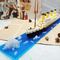 180 Pcs Building Blocks Titanic Toys
