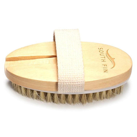 2 In 1 Dry Skin Natural Body Brush Natural