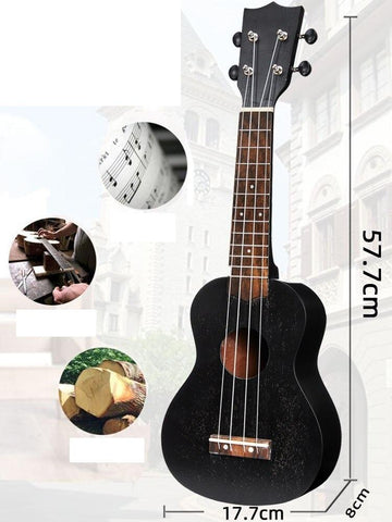 "21"" 4 Strings Begginer Small Guitar"