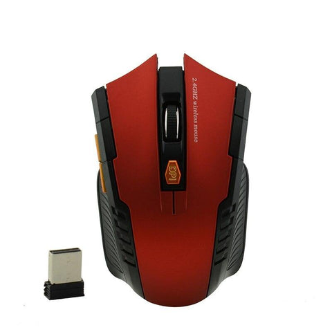 2.4 Ghz Wireless Gaming Mouse Optical 6 Buttons USB Reciever Mouse