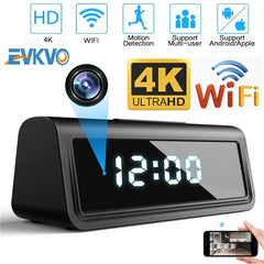 1080P Wireless Alarm Clock Security Camera Plus