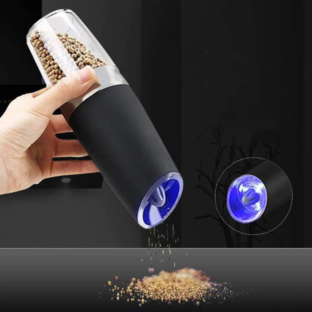 Electric Sand and Pepper Grinders with Stand Base