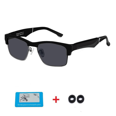 2-in-1 Intelligent High-Tech Smart Glasses, Suitable for Android or iOS