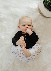 Mo Ribbed Onesie - Shop Little Dude