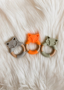 Fox Teething Ring - Shop Little Dude