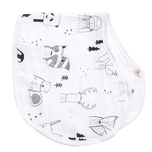 Forest Friends Burp Cloth