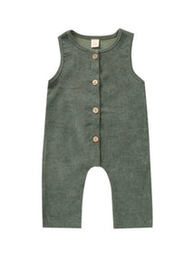 Harvey Corduroy Romper in Olive