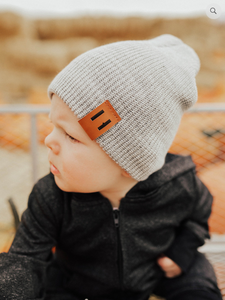 Wool Knit Beanie - Shop Little Dude