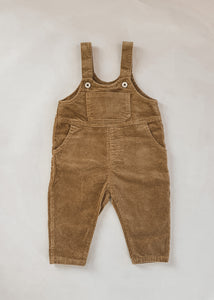 Ben Corduroy Overalls in Camel - FINAL SALE