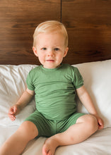 Load image into Gallery viewer, Cooper Jammies in Green