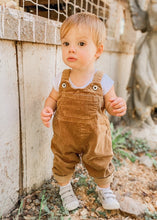 Load image into Gallery viewer, Ben Corduroy Overalls in Camel - FINAL SALE