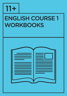 11+ English - Revision Course 1 - Workbooks
