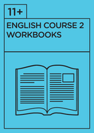 11+ English - Revision Course 2 - Workbooks