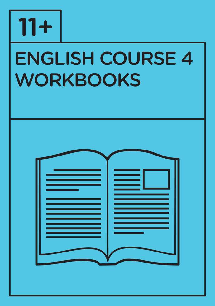 11+ English - Revision Course 4 - Workbooks