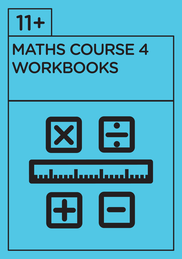 11+ Mathematics - Revision Course 4 - Workbooks