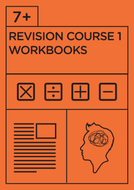 7+ Revision Course 1 - Workbooks