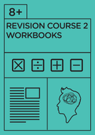 8+ Revision Course 2 - Workbooks