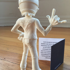 Radical Rick 40th Anniversary Hand-Cast Resin Limited Edition Figure