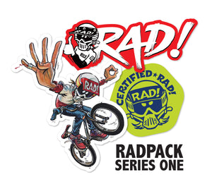 RADPACK SERIES ONE Sticker Set