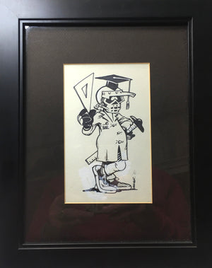 Professor Rad - ORIGINAL ILLUSTRATION