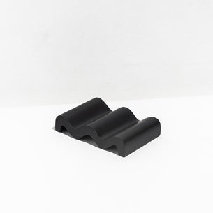 Fazeek Wave Soap Dish - Black