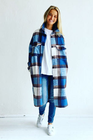 Mosk Melbourne ABERDEEN JACKET - GINGERBREAD PLAID