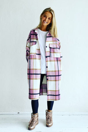 Mosk Melbourne ABERDEEN JACKET - MUSK PLAID