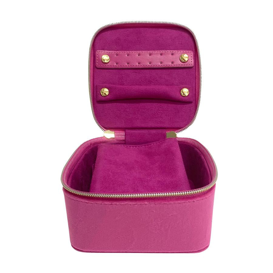 Luxe Jewellery Cube - Berry