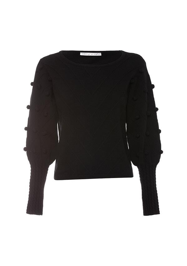 Ministry of Style Dante Bell Sweater - Black