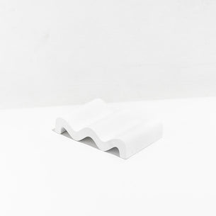 Fazeek Wave Soap Dish - White