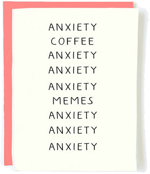 Anxiety Coffee